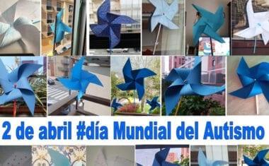 Los alumnos de 2º ESO 'A' del IES Infanta Elena celebran el día mundial del Autismo