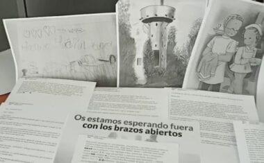 Llegan las primeras cartas, dibujos y mensajes a los pacientes  por Covid-19 del Hospital Virgen del Castillo de Yecla