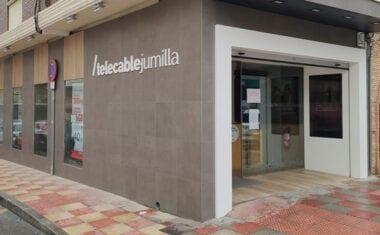 Telecable Jumilla retoma la actividad presencial en su tienda de Cánovas 92