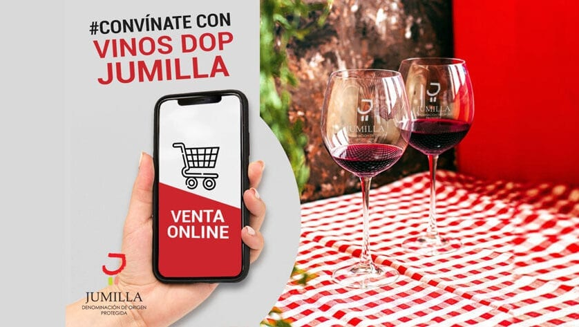 Ya se puede comprar desde casa los vinos de nuestra Denominación de Origen Protegida Jumilla