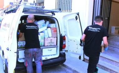 Telecable Jumilla hace un donativo a Cáritas para ayudar a las familias más necesitadas de nuestra localidad