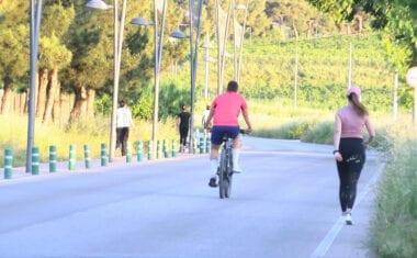 Las personas mayores y los deportistas ya tienen su hueco en las calles de Jumilla