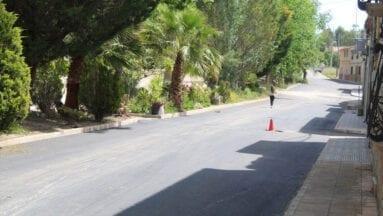 En la Fuente del Pino también han finalizado las obras de asfaltado