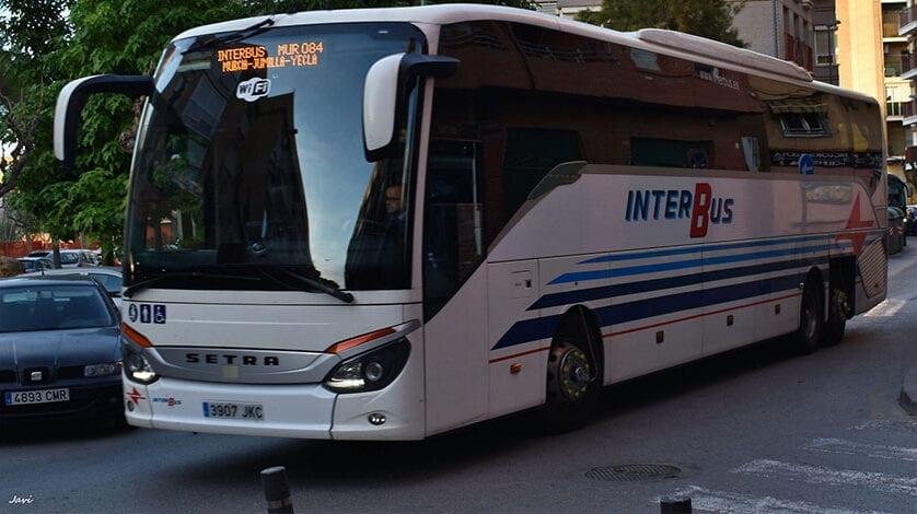 Interbus reanudará en los próximos días (previsiblemente el lunes) el transporte de viajeros entre Jumilla, Yecla y Murcia