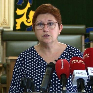 Juana Guardiola, alcaldesa de Jumilla