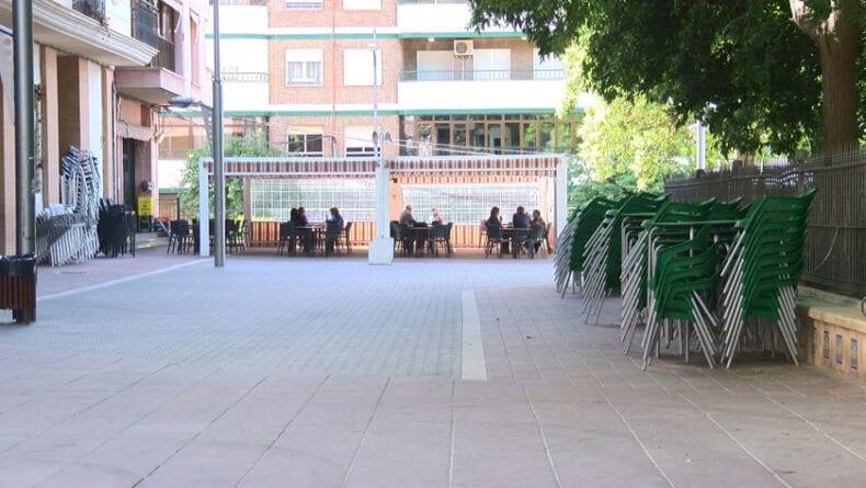 La hostelería ya puede poner las terrazas al 50 por ciento de aforo