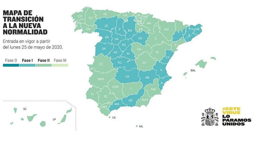 La Región de Murcia entrará en Fase 2 el próximo lunes 25 de mayo