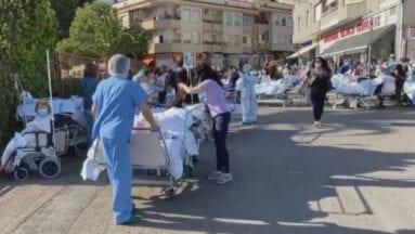 Todos los pacientes tenían que ser evacuados del centro hospitalario