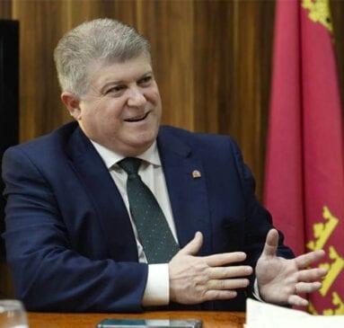 José Vélez, delegado del Gobierno en la Región de Murcia