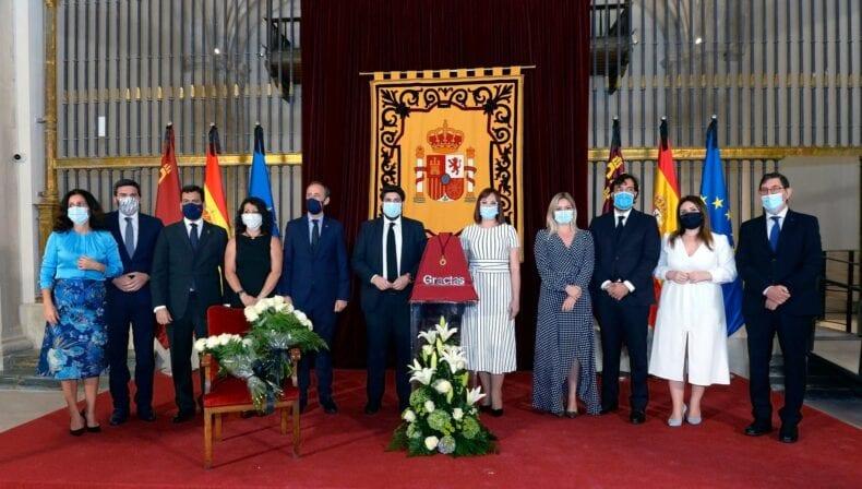 Acto institucional en el Día de la Región de Murcia 2020