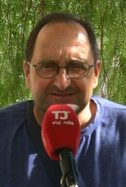 Antonio Carrión, secretario general de UPA en el Altiplano