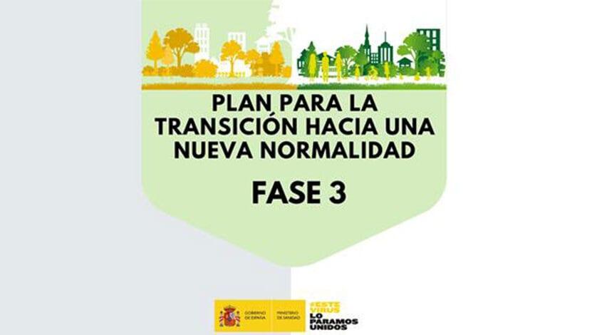 El 52% de la población estará el lunes en Fase 3, incluyendo la Región de Murcia