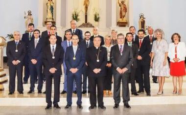 Juan Francisco Martínez García renueva como presidente de la Junta Central de Hermandades de Jumilla