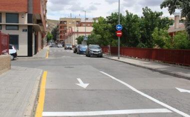Sentido único de circulación en la calle Valencia