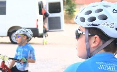 La Escuela de Ciclismo Jumilla vuelve a los entrenamientos
