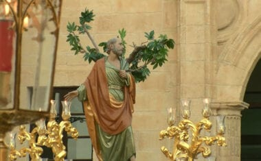La Hermandad del Beso de Judas celebrará el día de San Pedro