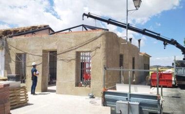 En marcha las obras de rehabilitación de uno de los locales sociales de la Cañada del Trigo