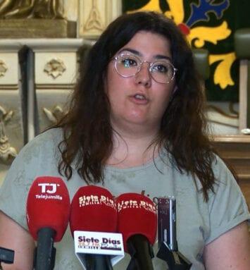 María Quílez, concejala de Turismo