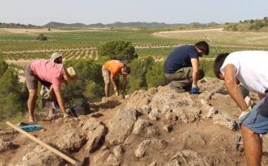 Segunda campaña de excavaciones en el yacimiento de la Edad del Bronce, Gorgociles del Escabezado de Jumilla