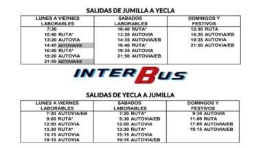 INTERBUS Jumilla-Yecla y Yecla Jumilla