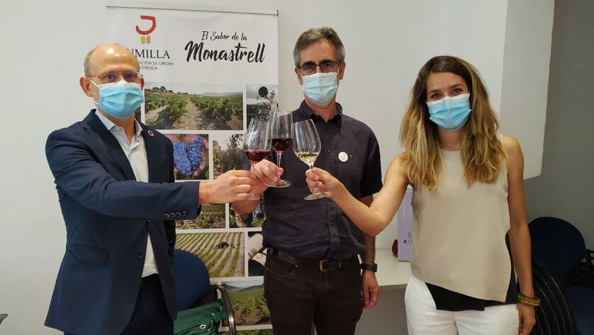 Primer día de catas del XXVI Certamen de Calidad Vinos DOP Jumilla en Madrid
