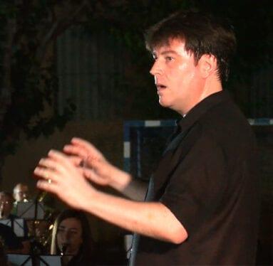 Ángel Hernández, director de la Banda Titular de la AJAM