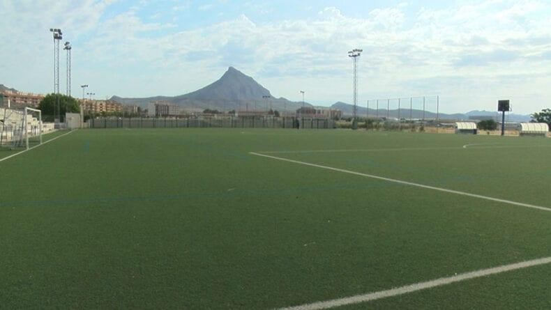 Campo de fútbol de césped artificial Antonio Ibáñez de Jumilla