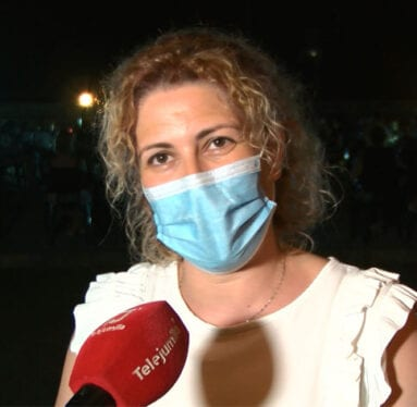 Fuensanta Olivares, presidenta de la AJAM