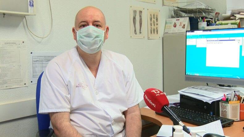 Médico de Atención Primaria y responsable de Docencia en el Centro de Salud de Jumilla