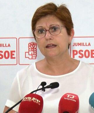 Juana Guardiola, secretaria general del PSOE Jumilla