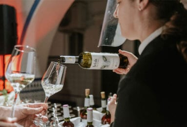 La cena se acompañó con vinos DOP Jumilla