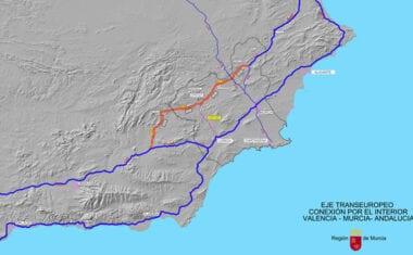 La Comunidad solicita que el Corredor Interior con Andalucía se integre en el Corredor Mediterráneo Europeo