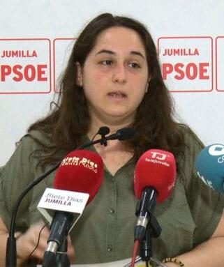 Pilar Martínez, secretaria de organización de la Agrupación Socialista de Jumilla
