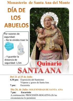 Quinario en honor a Santa Ana