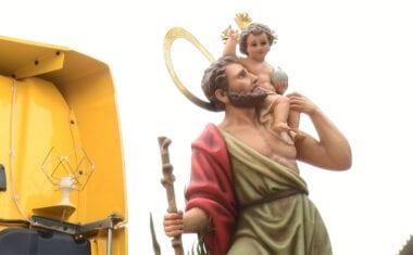 San Cristobal recibirá un homenaje adaptado a las circunstancias del momento