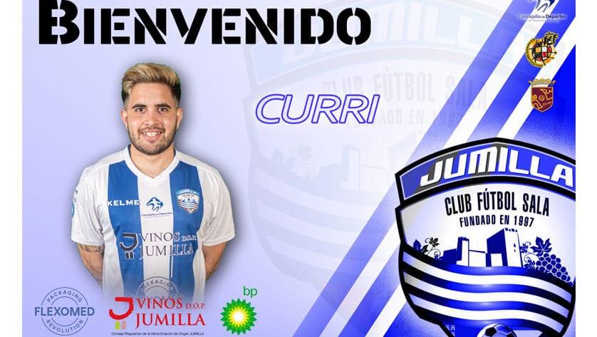 El Club Vinos DOP Jumilla FS confirma a José Antonio García 'Curri' para la temporada 2020-21