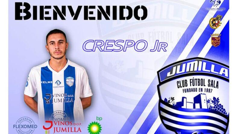 José Crespo García estará otra temporada más en el Vinos DOP Jumilla Fútbol Sala