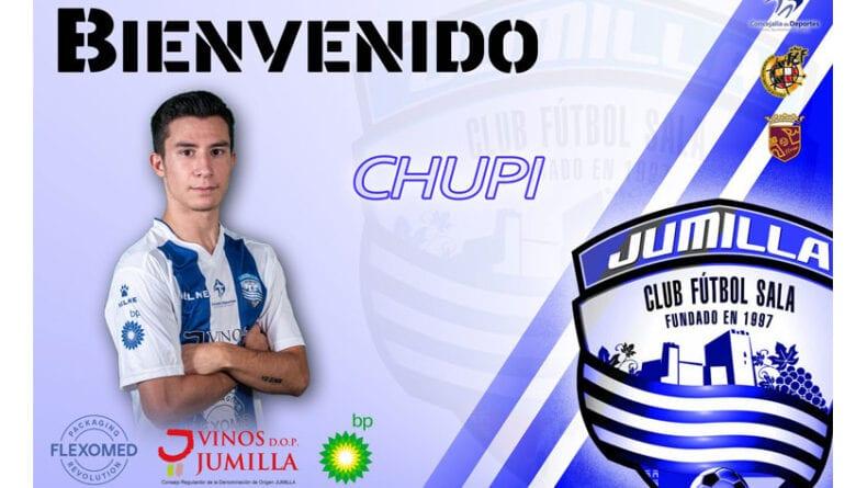 Juan Antonio Carrión Lozano estará con el Club Vinos DOP Jumilla FS la próxima temporada