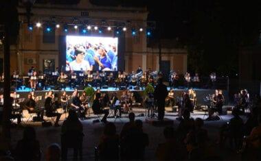 La Asociación de Moros y Cristianos D. Pedro I de Jumilla cerró sus actividades con un concierto festero a cargo de la AJAM