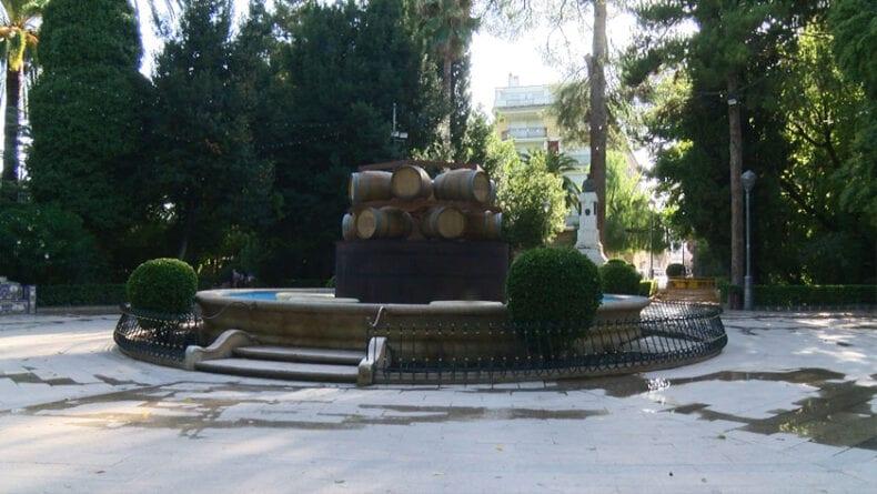 La Fuente del Vino se ubicará en la plaza del Jardín del Rey Don Pedro