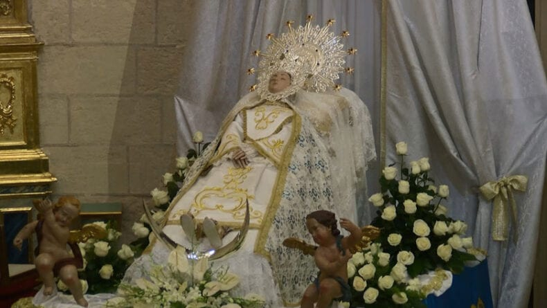 La Virgen de la Asunción y Patrona de Jumilla ha estado en Santiago desde el 6 al 23 de agosto