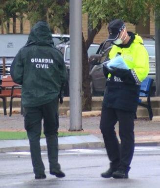 Policía Local y Guardia Civil siempre han colaborado estrechamente