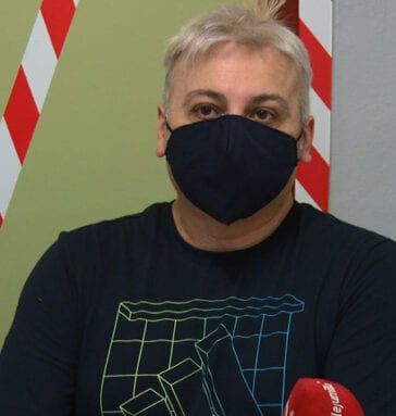 Carlos De Arce, maestro y responsable de Riesgos Laborales en el CEIP San Francisco