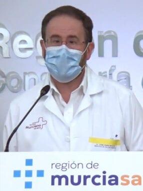 Jaime Pérez Martín, portavoz técnico de la Consejería de Salud