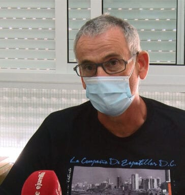 José García Cerezo, director del CEIP Miguel Hernández