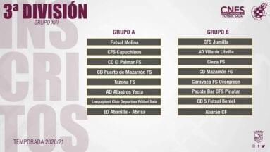 Tercera División, Grupo XIII
