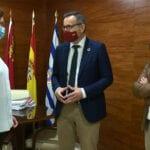 """Diego Conesa: """"el Gobierno de España mantiene su compromiso con Jumilla para construir el enlace de la A-33 con la carretera de El Carche"""""""