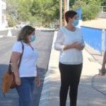 Finalizan las obras de renovación de infraestructuras de la calle Jardín Botánico y su prolongación hasta La Vía