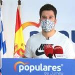 El Partido Popular pide a Juana Guardiola que le quite las competencias de Deportes a José Antonio Jiménez