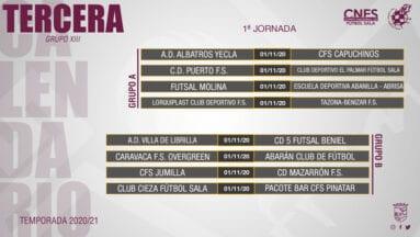 Calendario Tercera División-Grupo Trece